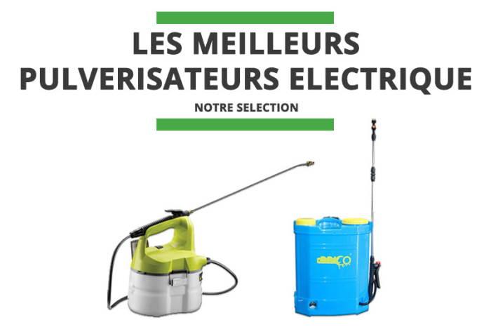 Meilleur pulvérisateur électrique